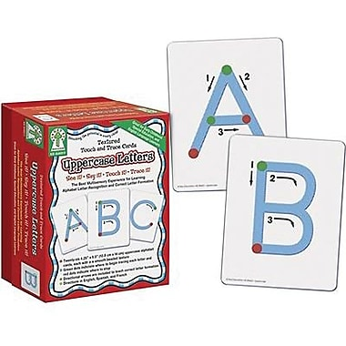 Key Education Publishing® Touch and Trace Card, Uppercase Letters, Grades 1st - 3rd