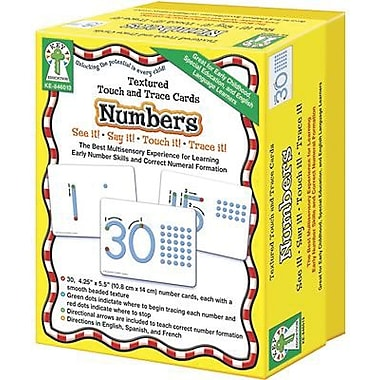 Key Education Publishing® Numbers Textured Touch and Trace Cards Set