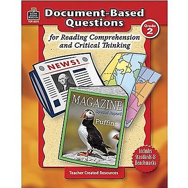 Teacher Created Resources® Document-Based Questions Book, Grades 2nd