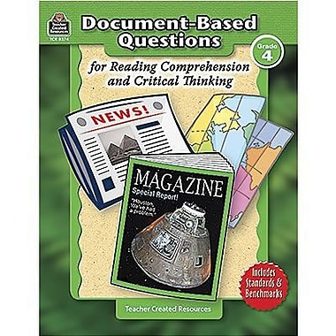 Teacher Created Resources® Document-Based Questions Book, Grades 4th