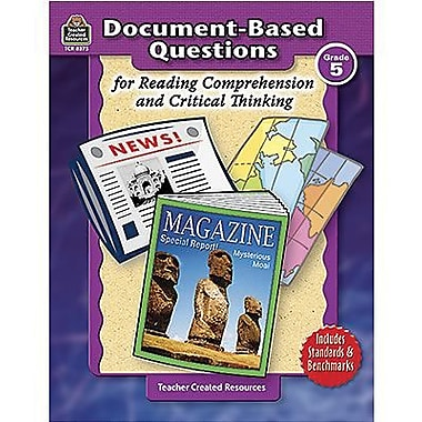 Teacher Created Resources® Document-Based Questions Book, Grades 5th