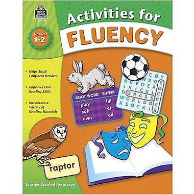Teacher Created Resources® Fluency Activities Book, Grades 1st - 2nd