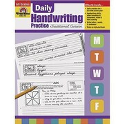 Evan-Moor® Daily Traditional Cursive Handwriting Practice Book