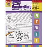 Evan-Moor® Daily Modern Manuscript Handwriting Practice Book
