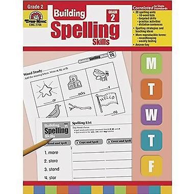 Evan-Moor® Spelling Skills Book, Grades 2nd