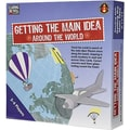 Edupress® Getting the Main Idea - Around the World Game, Blue Level, Grades Pre-School - 12th