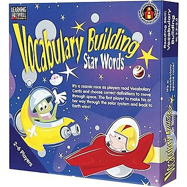 Edupress® Vocabulary Building - Star Words Game, Blue Level, Grades Pre School - 12th
