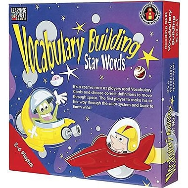 Edupress® Vocabulary Building - Star Words Game, Red Level, Grades Pre-School - 12th