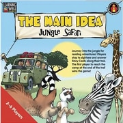 Edupress® The Main Idea - Jungle Safari Game, Red Level, Grades Pre-School - 12th