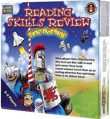Edupress Reading Skills Review - Time Machine Game, Blue Level, Grades 3rd - 5th