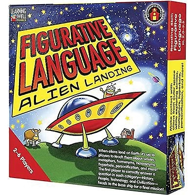 Edupress® Figurative Language - Alien Landing Game, Red Level, Grades Pre-School - 12th