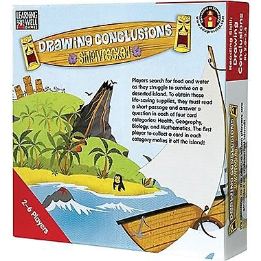 Edupress® Drawing Conclusions - Shipwrecked Game, Red Level, Grades Pre-School - 12th