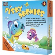 Edupress® Fishy Phonics Game, Beginning and Ending Consonants