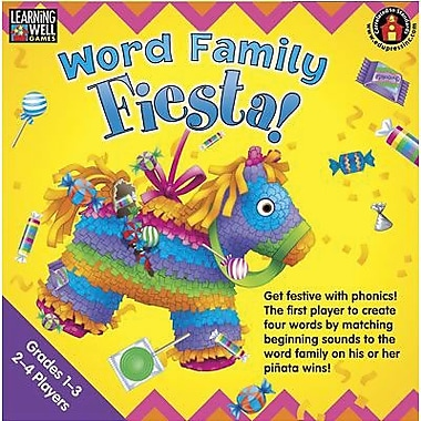 Edupress® Word Family Fiesta Game, Red Level, Grades 3rd - 8th