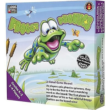 Edupress® Froggy Phonics Game, Digraphs, Diphthongs and R-Controlled Vowels