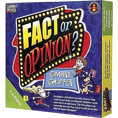 Edupress® Fact or Opinion - Smart Shopper, Green Level, Grades 5th - 7th