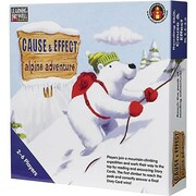 Edupress® Cause & Effect - Alpine Adventure Game, Blue Level, Grades 3rd - 4th
