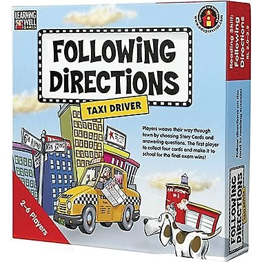Edupress® Following Directions - Taxi Driver Game, Red Level, Grades Pre-School - 7th