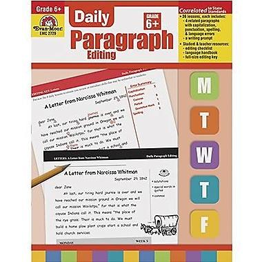 Evan-Moor® Daily Paragraph Editing Book, Grades 6th