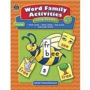 Teacher Created Resources® Word Family Activities, Long Vowel, Grades Kindergarten - 1st
