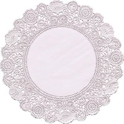 Hygloss® Round Paper Lace Doilies, P - 12, 8""