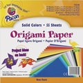 Pacon® 9 3/4in. x 9 3/4in. Origami Craft Paper, Assorted Size