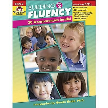 Evan-Moor® Building Fluency Book, Grades 2nd