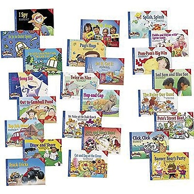Creative Teaching Press™ Phonics Readers Variety Pack Books, Readers and read-along CDs