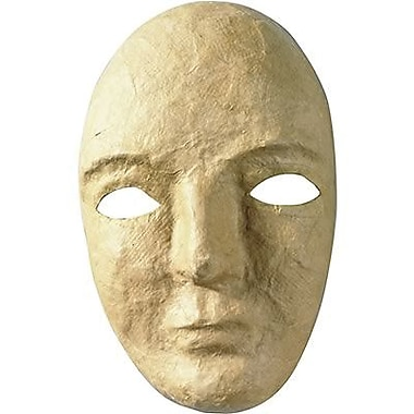Chenille Craft® Paper Mache Mask, Natural