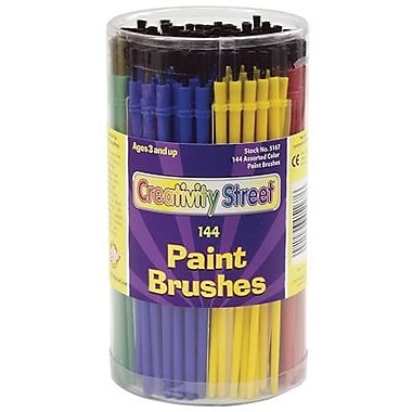 Chenille Craft® Economy Paint Brush, 6 Color