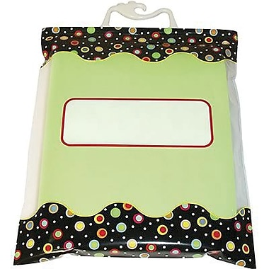 Creative Teaching Press™ Dots On Black Storage Bag, 13in.(H) x 10in.(W)