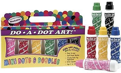 Do-A-Dot Art Mini Marker, Island Bright 848697