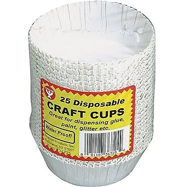 Hygloss® Craft Cups, 25 Pieces