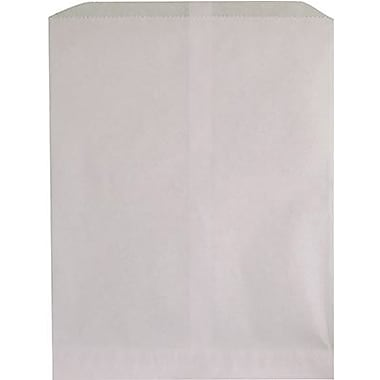 Hygloss® 11in. x 8 1/2in. Pinch Bottom Craft Paper Bag, White