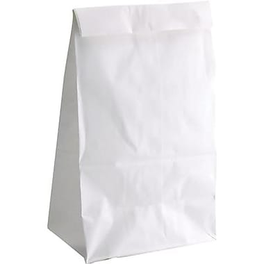 Hygloss® 11in. x 6in. Craft Paper Bag, White Gusseted