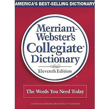 Merriam-Webster® Collegiate® Dictionary, 11th Edition, Jacketed Hardcover