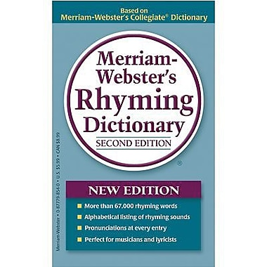 Merriam-Webster® Rhyming Dictionary, 2nd Edition