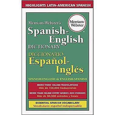 Merriam-Webster® Spanish-English Dictionary