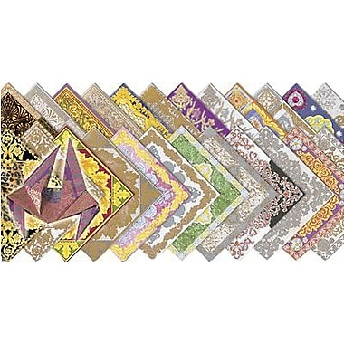 Roylco® 6in. x 6in. Fancy Origami Craft Paper