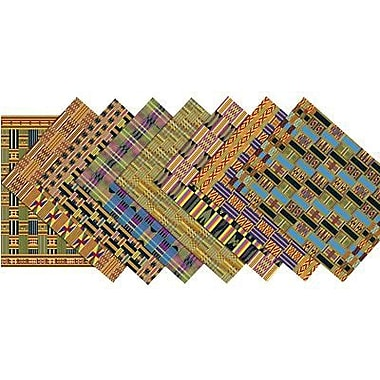Roylco® 11in. x 8 1/2in. African Textile Craft Paper