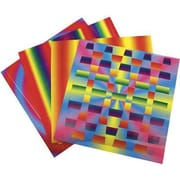 Roylco® 7 x 7 Rainbow Weaving Mats Craft Paper