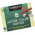 Sargent Art® Watercolor Crayon, 8/Box