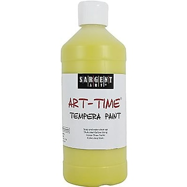 Sargent Art® Art-Time® 16 oz. Liquid Tempera Paint, Yellow