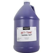 Sargent Art Art-Time Non-toxic 128 oz. Liquid Tempera Paint, Violet (SAR226642)