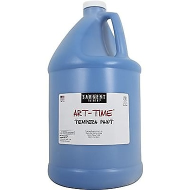 Sargent Art Art-Time Non-toxic 128 oz. Liquid Tempera Paint, Turquoise (SAR226661)