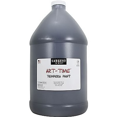 Sargent Art Art-Time Non-toxic 128 oz. Liquid Tempera Paint, Black (SAR226685)