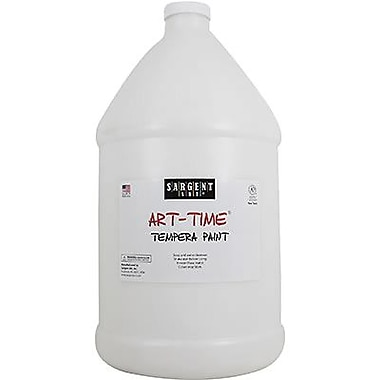 Sargent Art® Art-Time® 128 oz. Liquid Tempera Paint, White