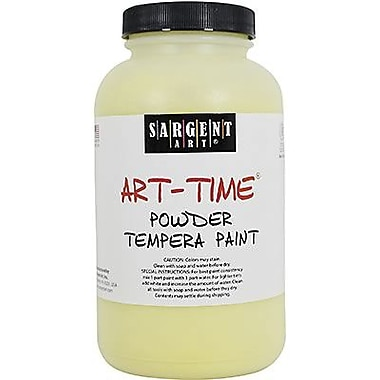 Sargent Art® Art-Time® 1 lbs. Powder Tempera Paint, Yellow