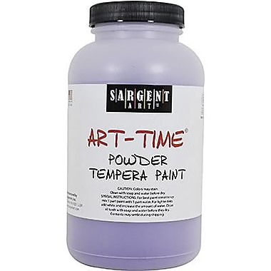 Sargent Art Art-Time Non-Toxic 1 lb. Tempera Paint, Violet (22-7142)