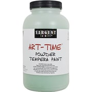 Sargent Art Art-Time Non-Toxic 1 lb. Tempera Paint, Green (22-7166)